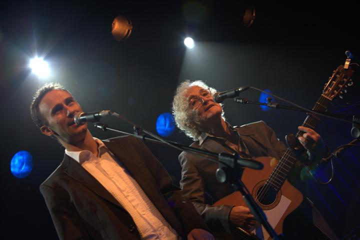 ישראל גוריון ואסף אמדורסקי שרים הדודאים