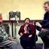 """יהודה פוליקר יחד עם הוריו - שרה וג\'קו פוליקר ז\""""ל"""